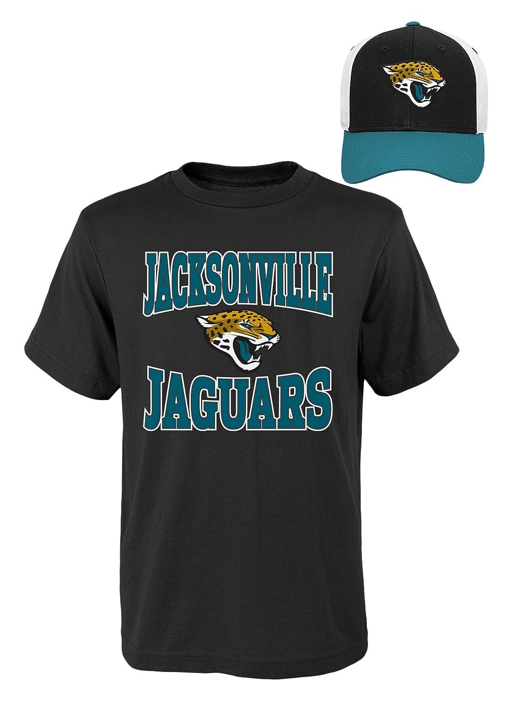 NFL Youthボーイズ半袖Tシャツと帽子セット Youth Boys Small(8) ブラック   B01MAY73Y6