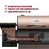 Z GRILLS 2018 Upgrade Deluxe Wood Fired Pellet