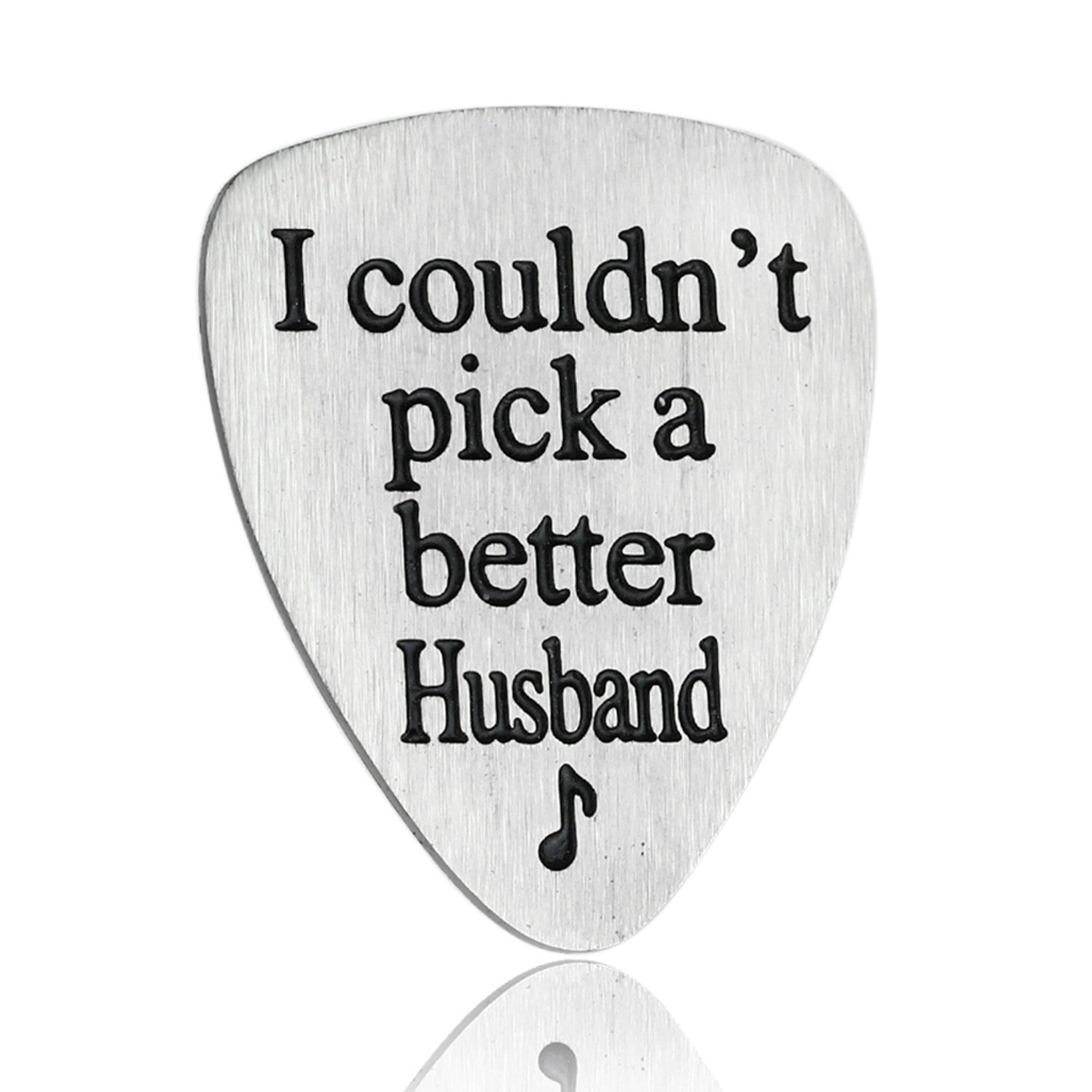 Amazon.com: I Couldn\'t Pick A Better Husband Guitar Pick Jewelry ...