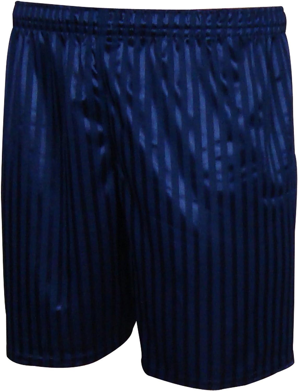 Click4Fashions Mens Shadow Stripe Football Shorts