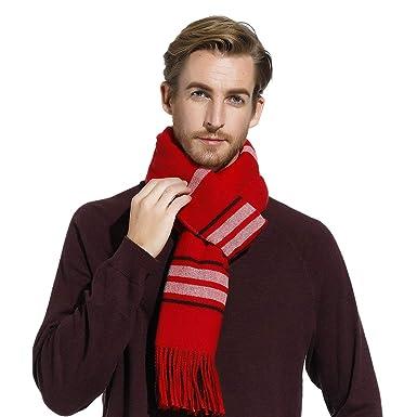 choisissez le dégagement faire les courses pour gamme complète d'articles Écharpes à rayures pour femme hommes, longue foulards d ...