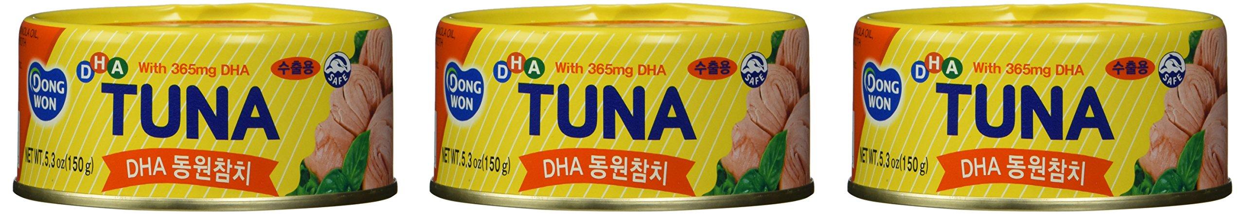 Dongwon DHA Tuna Can 150g X 3can