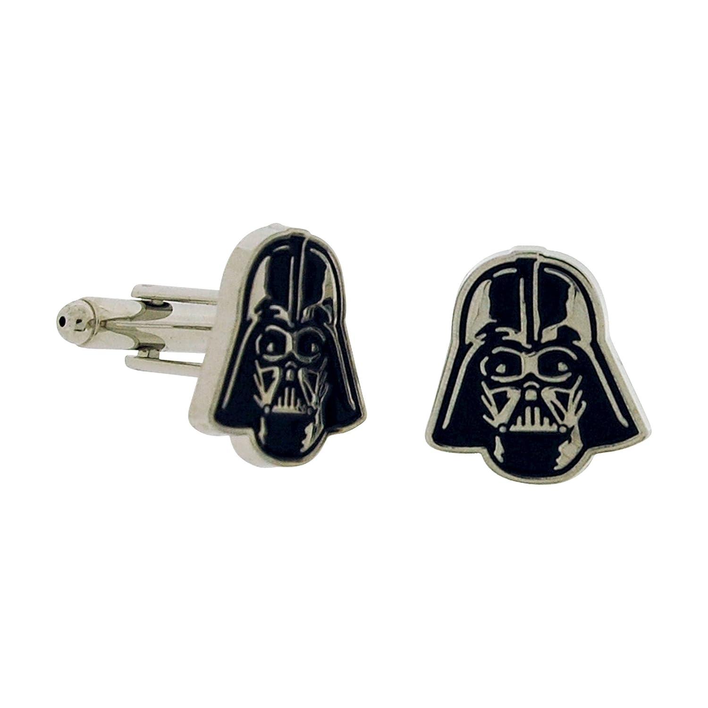 Boutons de manchette Star Wars Darth Vader /émail dans une bo/îte cadeau