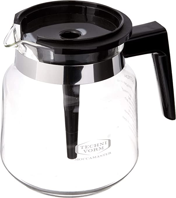 Technivorm Moccamaster 59835 1.25L Glass Carafe, for for KB, Brewers