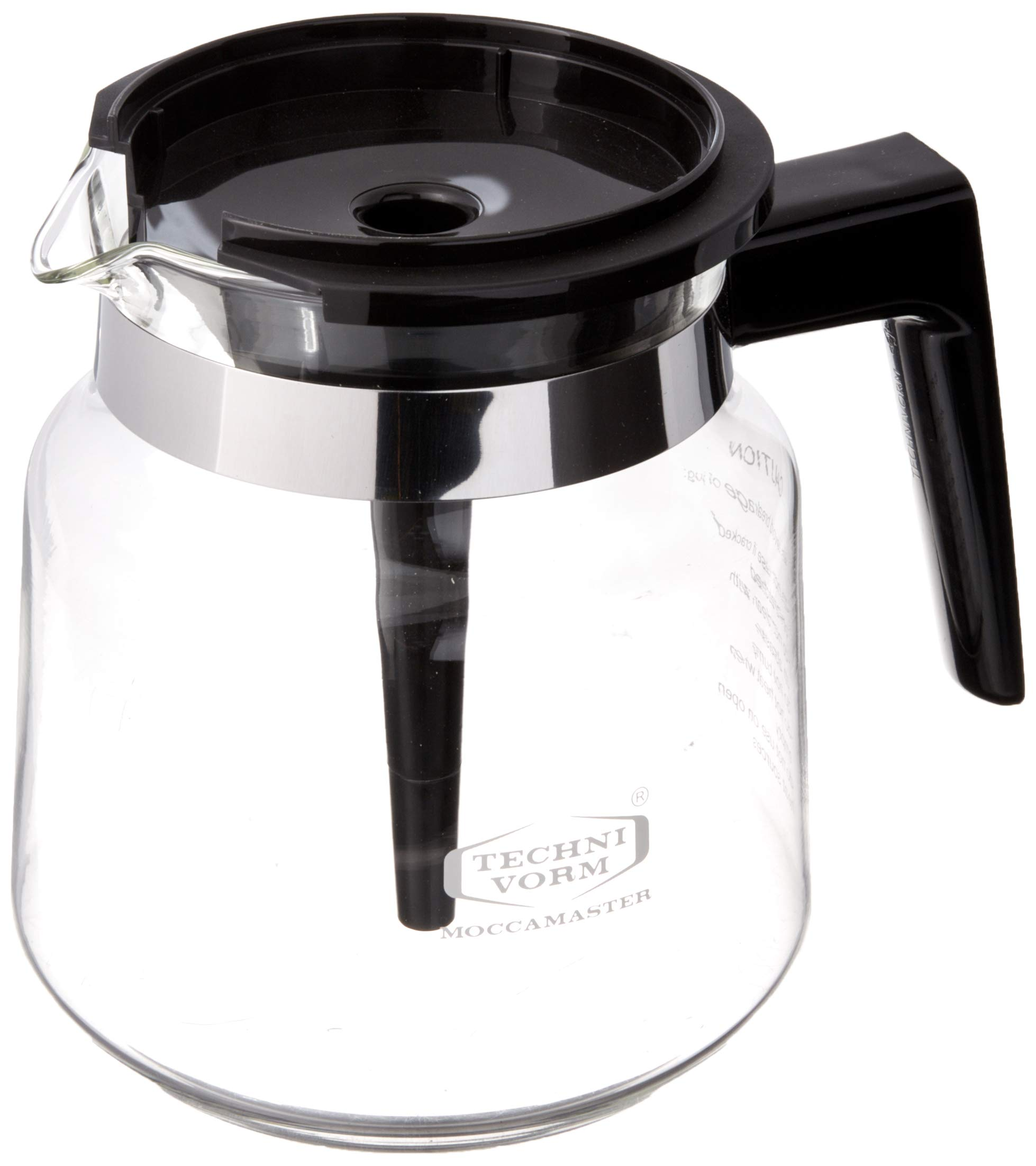 Technivorm Moccamaster 59835 1.25L Glass Carafe, for for KB, Brewers by Technivorm Moccamaster