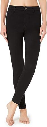 Calzedonia - Pantalones vaqueros térmicos para mujer Noir ...