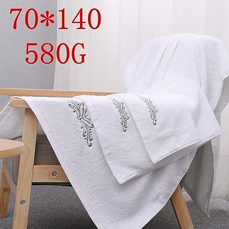 adulto algodón toalla de baño/Blanco espesamiento creciente toallas de baño de agua en Hotel