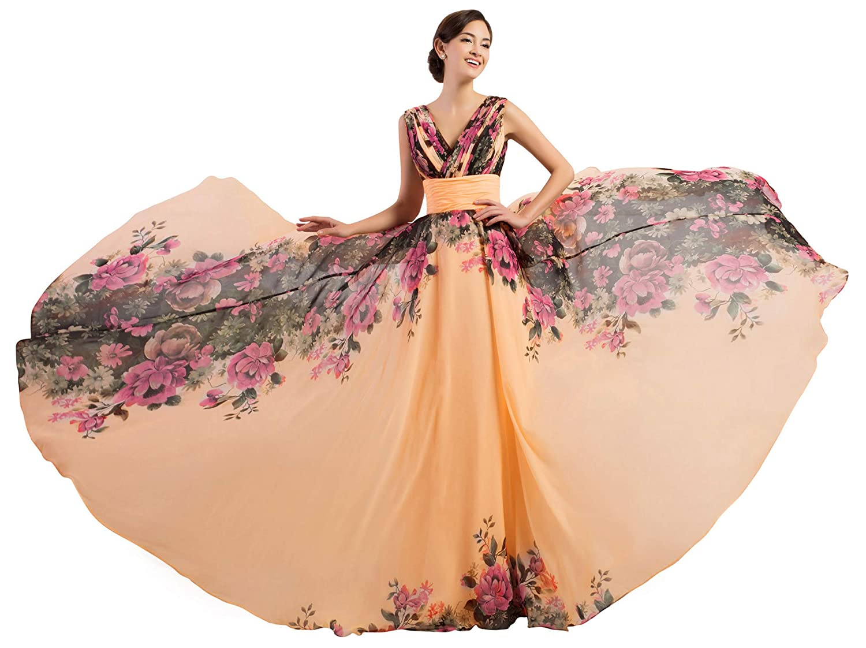 GRACE KARIN Vestiti Lungo Vintage Donna Paillettes Senza Spalline Abito da Festa di Matrimonio Abito da Cocktail