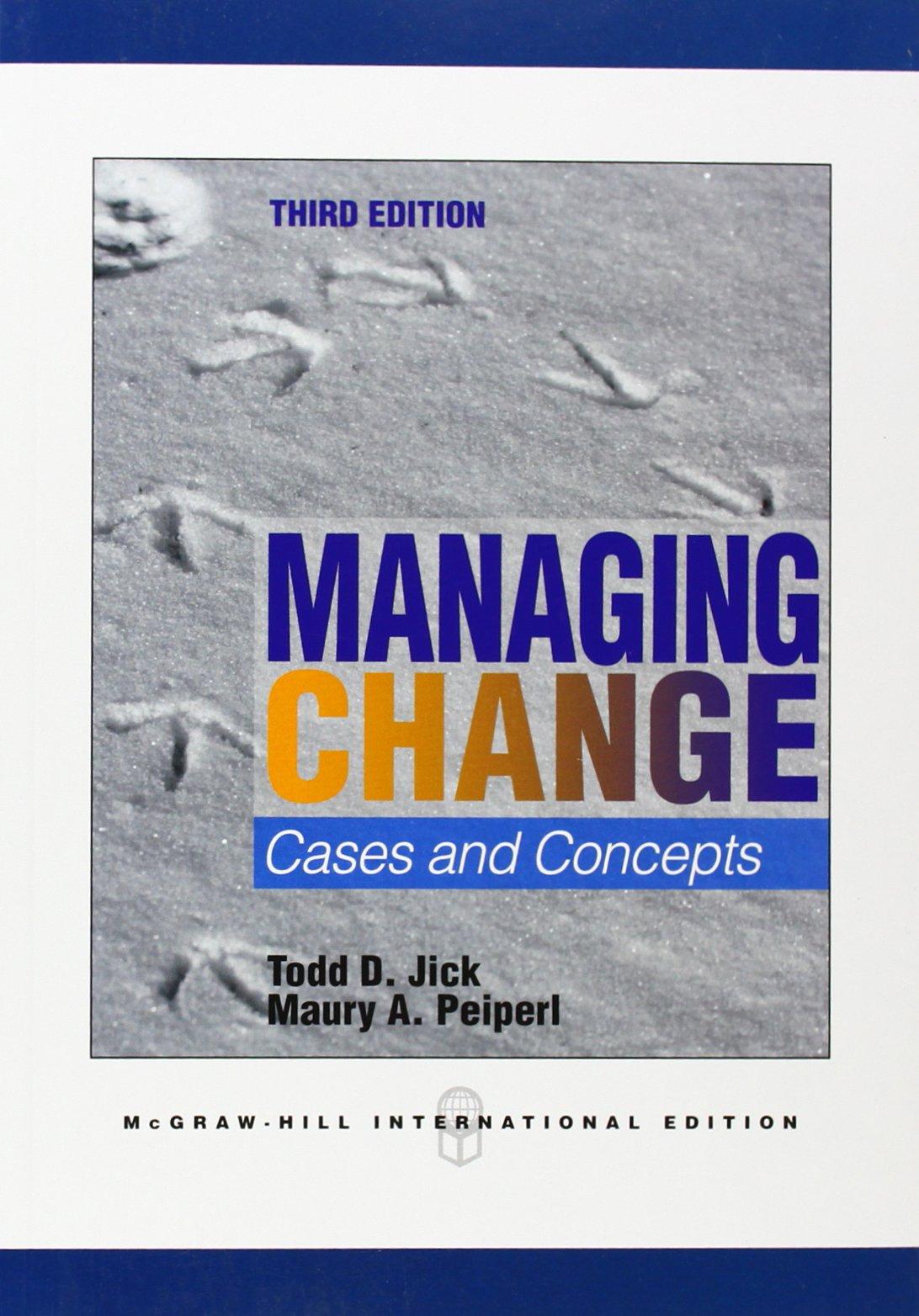 Managing Change PDF