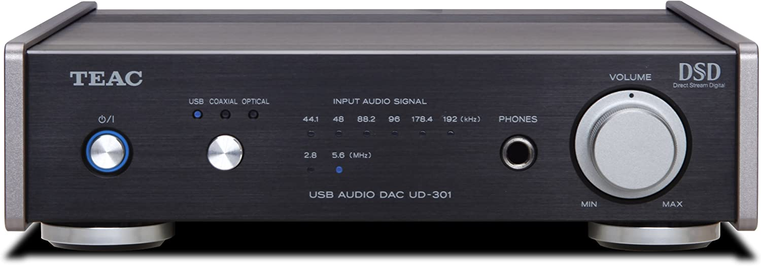 UD-301-SP//S JAPAN Silver NEW Teac dual monaural USB-DAC Reference UD-301-SP