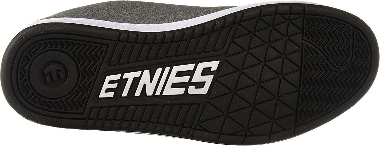 Etnies Men's Kingpin 2 Skate Shoe Black/Grey/White