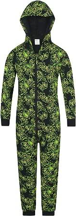 The PyjamaFactory - Pijama para videojuegos, color verde