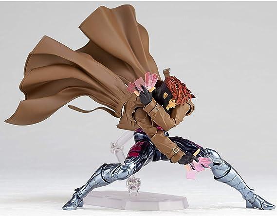 Amazing Yamaguchi Revoltech No.012 X-Men Gambit PVC Action Figure New In Box