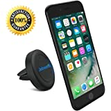 """Air Vent Car Mount Cell Phone Holder, JEBSENS CA02 Magnetic Air Vent Car Mount, Portable Universal Car GPS Smartphone Holder Mount, Apple iPhone 6 / 6 PLUS (5.5""""), 3 Metal Plates & Protection Film"""