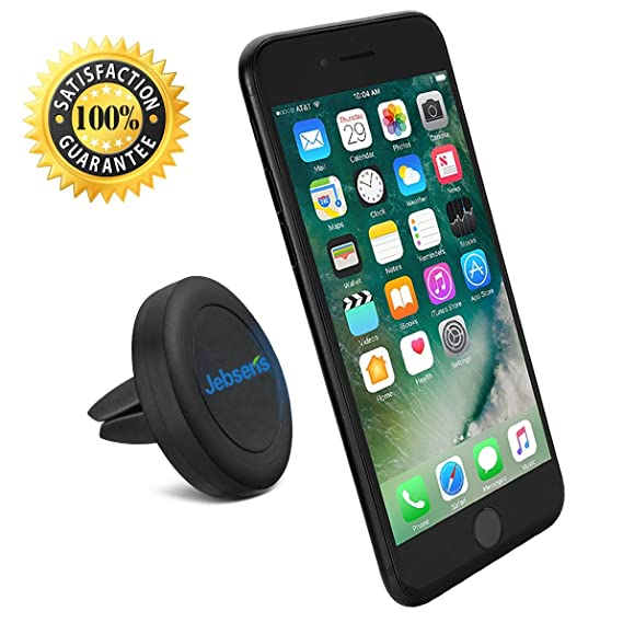 online store 3ee17 38bab Air Vent Car Mount Cell Phone Holder, JEBSENS CA02 Magnetic Air Vent Car  Mount, Portable Universal Car GPS Smartphone Holder Mount, Apple iPhone 6/6  ...
