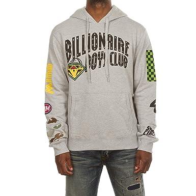 9af54dbaeac Billionaire Boys Club BB Space Circuit Hoodie in Heather Grey   Black 881-7319  (
