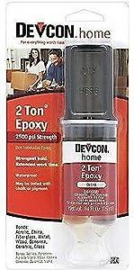 New Devcon 31345 S31 2 Ton Clear Plastic Welder Epoxy Glue Waterproof Adhesive