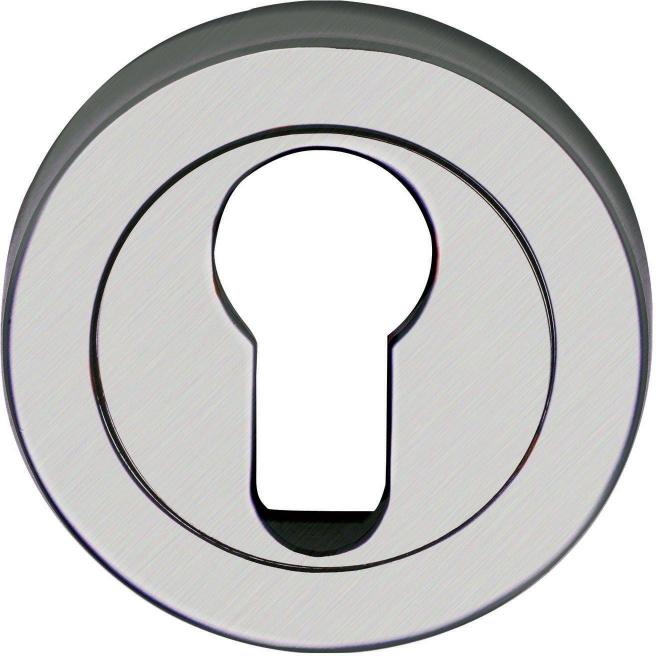 Steel Line SS-891-P - Embellecedor para cerradura (acero inoxidable): Amazon.es: Bricolaje y herramientas