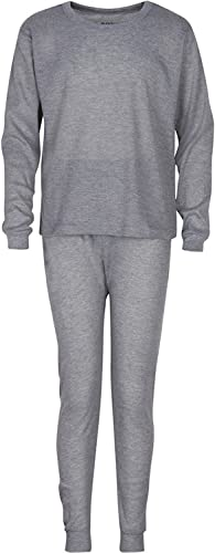 Warm /& High Moisture Wicking Waffle Knit Premium Mens Thermal Underwear Set