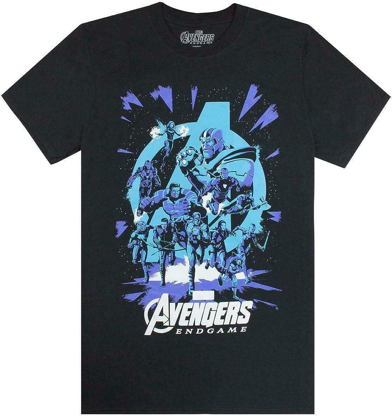 Marvel Avengers End Game Galactic Mens T-Shirt