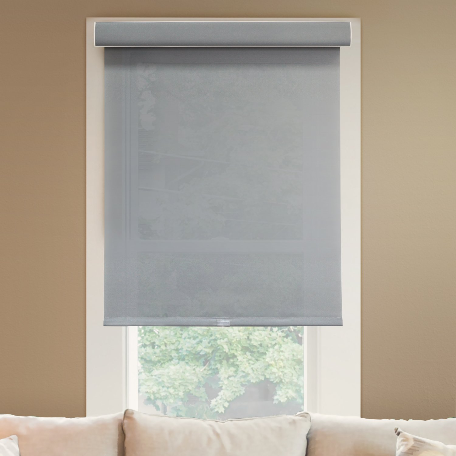 Chicology Free Stop Roller Shades Cordless