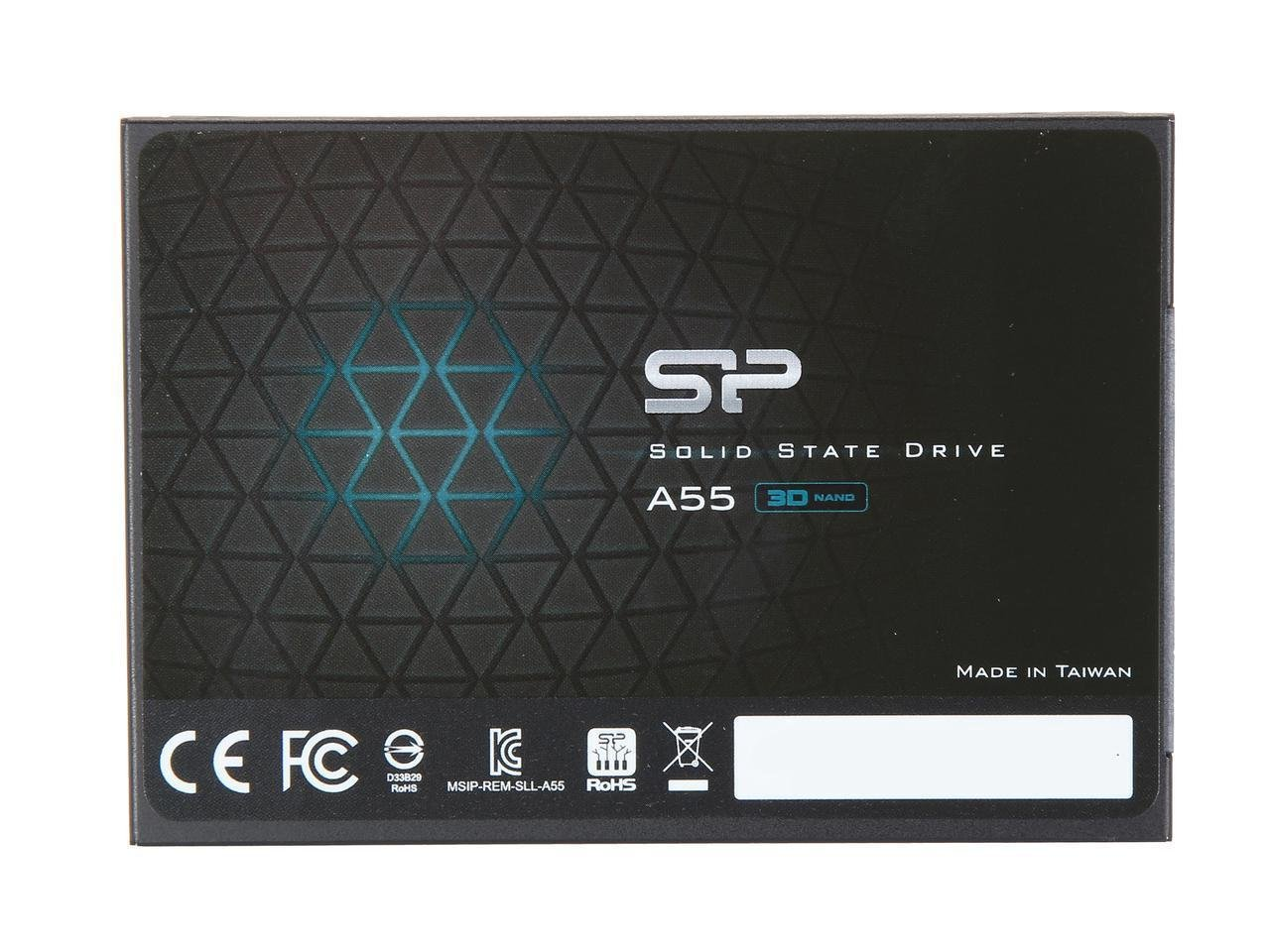 Silicon Power 256GB Ace A55 2.5'' SATA III 3D TLC Internal Solid State Drive (SSD) Model SU256GBSS3A55S25NB by Silicon Power (Image #1)