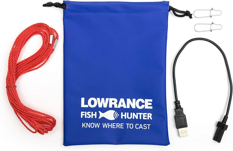 LOWRANCE FISHHUNTER 3D FISCHFINDER SONAR SMARTPHONE WIRELESS Neuheit 2018