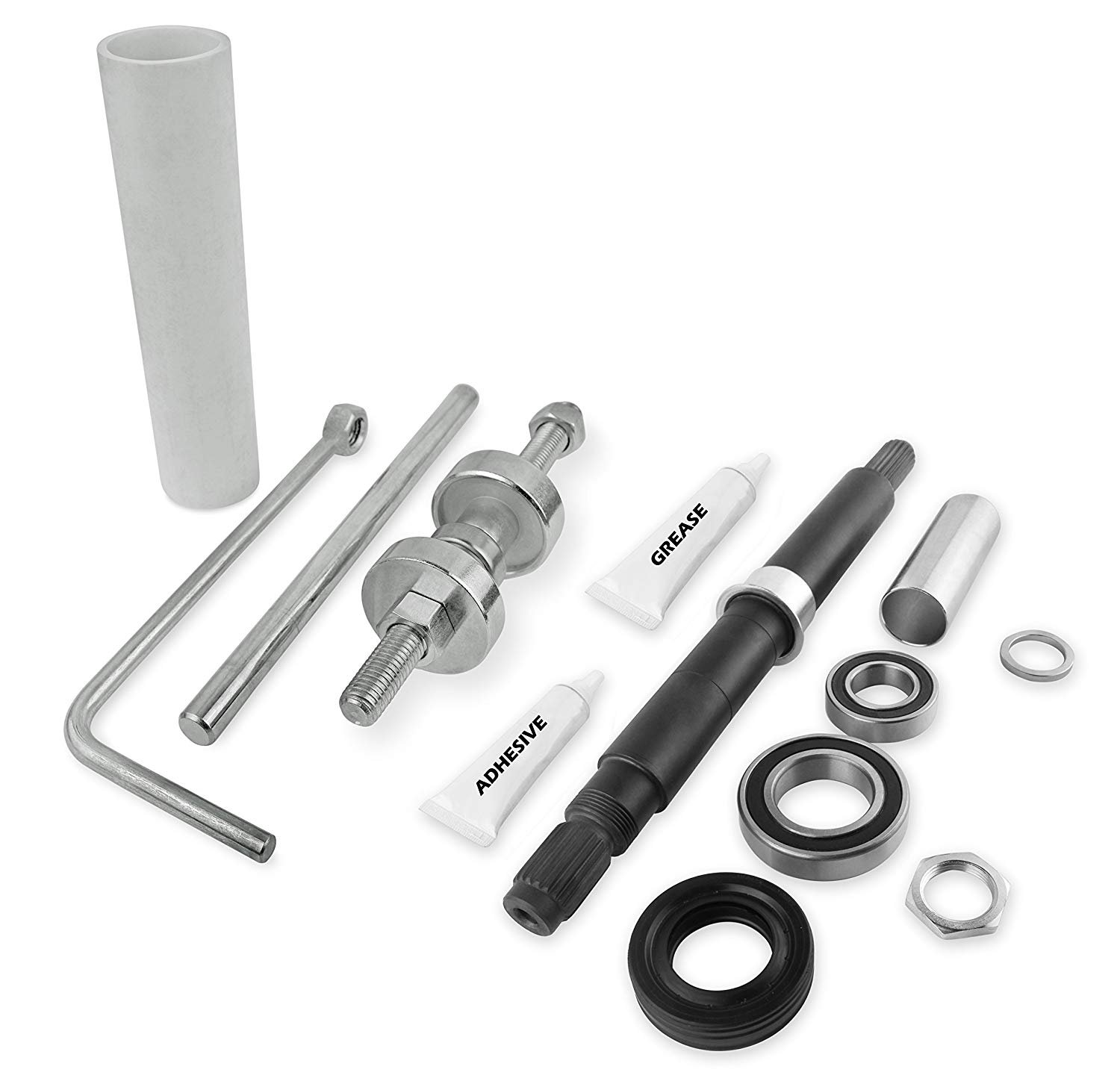 NEW W10447783 Tool Kit and W10435302 Bearing Assembly, COMPLETE PACKAGE, 2119011, W10435274, W10435285,- 1 YEAR WARRANTY