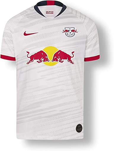 Rb Leipzig Home Jersey 19 20 White Kids X Small Shirt Rasenballsport Leipzig Sponsored By Red Bull Original Clothing Merchandise Amazon Co Uk Clothing