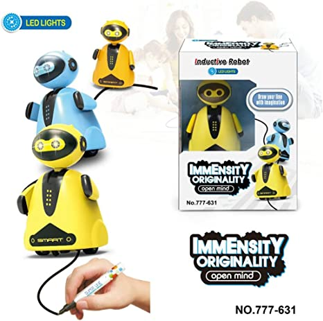 Follow Drawn Line Magic Pen Automatic Inductive Toy Car Model Series For Kids *
