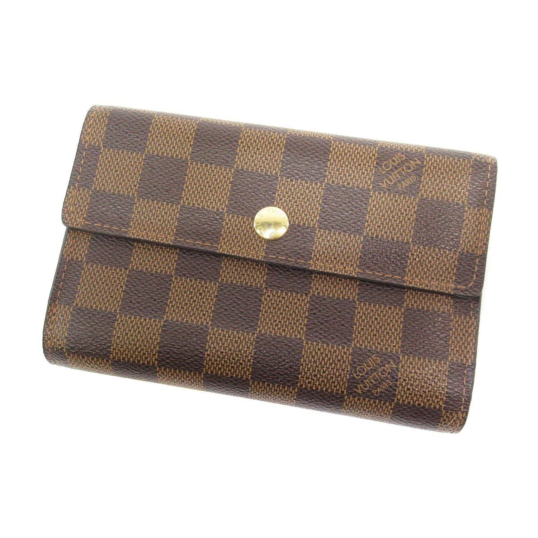 [ルイヴィトン] ポルトフォイユアレクサンドラ 二つ折り財布(小銭入れあり) ダミエキャンバス レディース B07BQMTT22