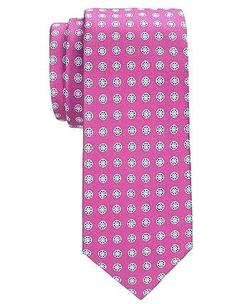 Tommy Hilfiger - Corbata de seda para hombre, diseño de medallones ...