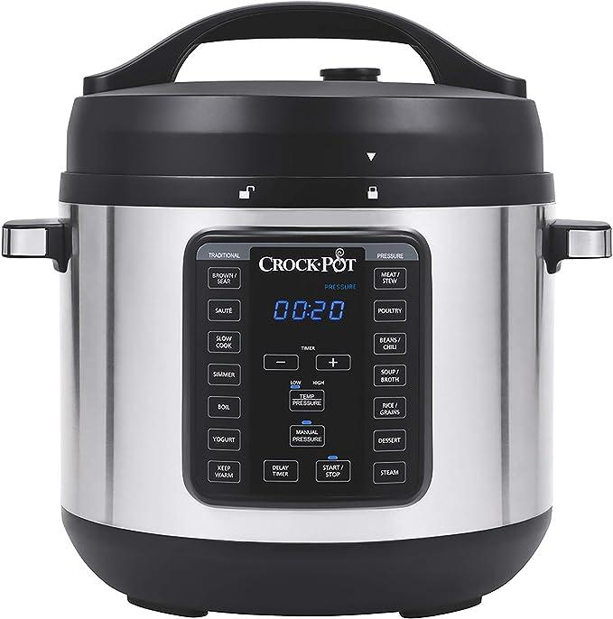 Crock-pot 8-Quart Multi-Use XL Express Crock Programmable Slow Cooker