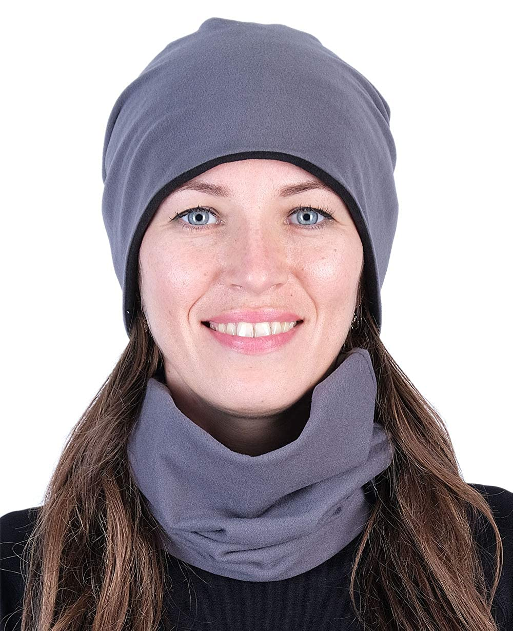 Hilltop calda sciarpa o cappello entrambi a doppio strato venduto singolarmente o come oggetto di risparmio