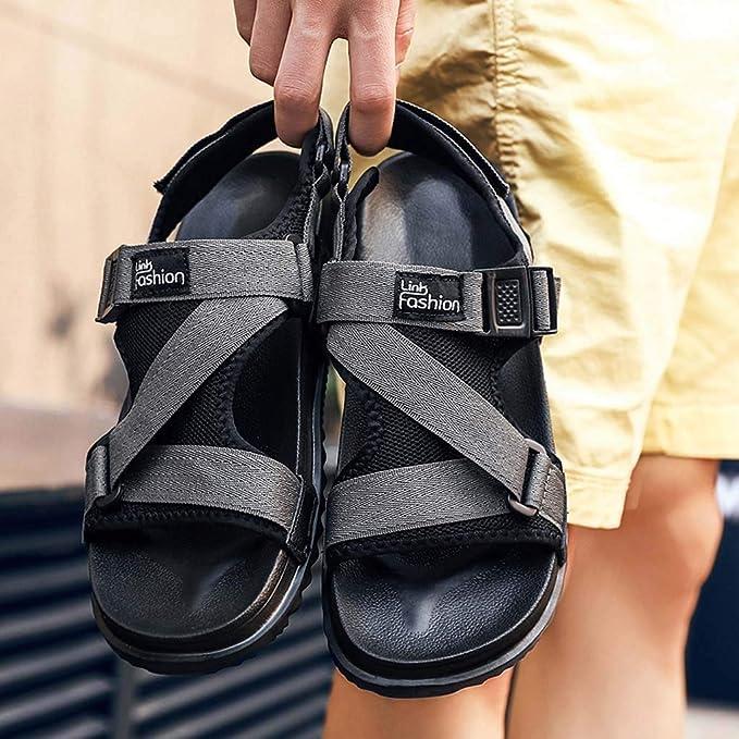 Sandalias para Hombre,YiYLunneo Verano Casual Chanclas Pisos Personalidad Chancletas Sandalia Antideslizante Zapato Playa Flipflop Flip-Flops: Amazon.es: ...