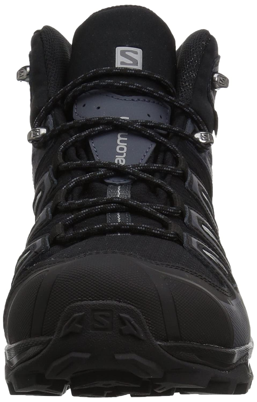 AW19-10.5 Black SALOMON X Ultra 3 Mid Gore-TEX Walking Boots 2E Width