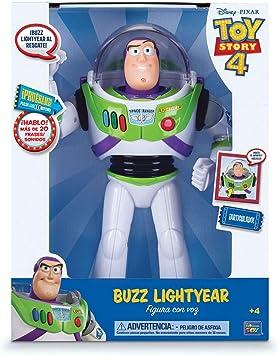 Oferta amazon: Toy Story Figura Articulada Buzz Lightyear con Voz 30 cm (BIZAK 61234070)