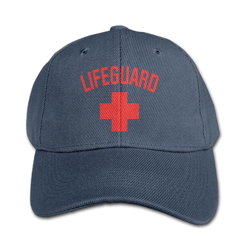 Mollie Storey Lifeguard Sleeveless Travel Sanpback Cap Hat Twill Cap For Kids Navy