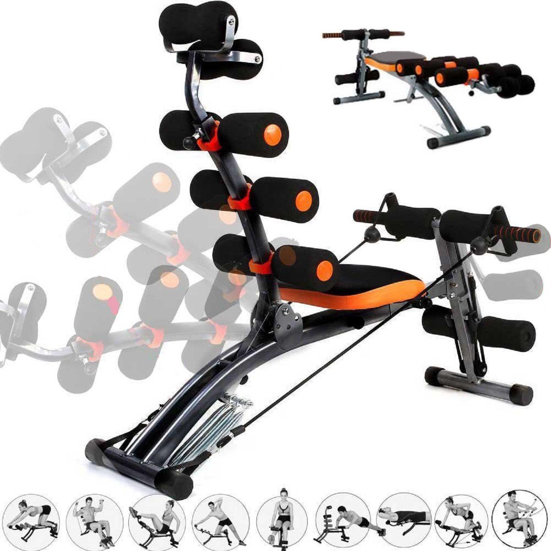 Poids: 10kg Orange-noir Anaelle Pandamoto Banc de Musculation Exercices pour Fitness du Corps Taille: 98*90*30cm Musculature et R/éduction du Poids