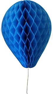 product image for 6-Pack 11 Inch Honeycomb Tissue Paper Balloon (Turquoise)