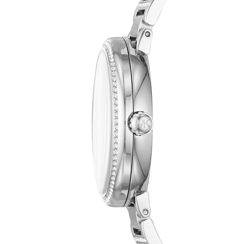 d1d70d28a768 Amazon.com  Michael Kors Women s Courtney Analog-Quartz Watch with Stainless -Steel Strap