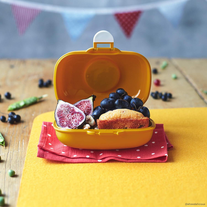 Kunststoff Moutarde 14,8 x 7 x 11,4 cm monbento Gram Lunchbox