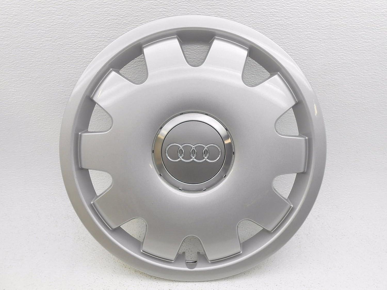 Tapacubos para Audi A4 A6 de 15 pulgadas, color plateado: Amazon.es: Coche y moto