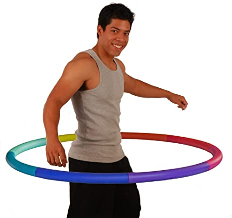 Fall Fashion 4lb weighted hula hoop from the Kimmie K Heavy Hoops Collection