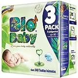 Bio Baby Toallas Húmedas, 240 Piezas