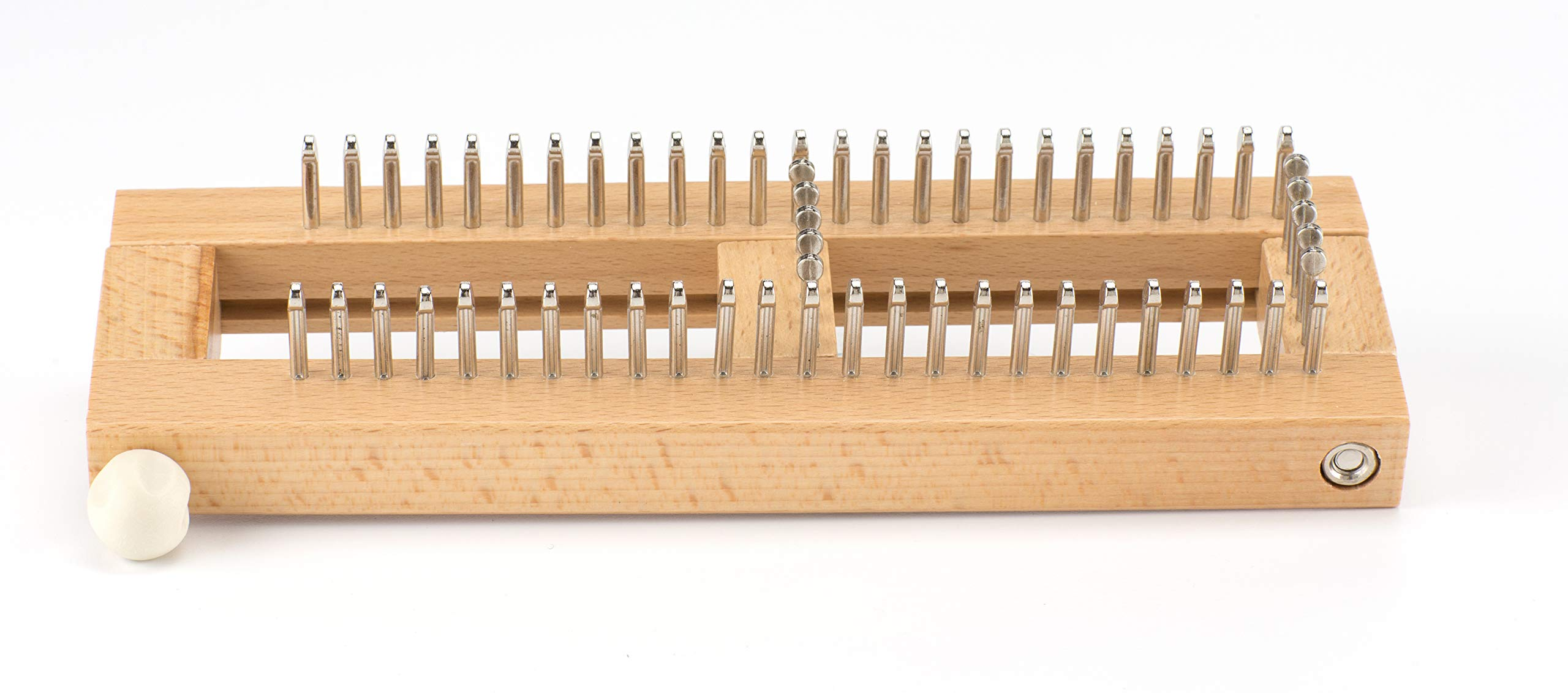 Authentic Knitting 9''x3'' Sock Loom Knitting Board W/DVD- by Authentic Knitting Board (Image #3)