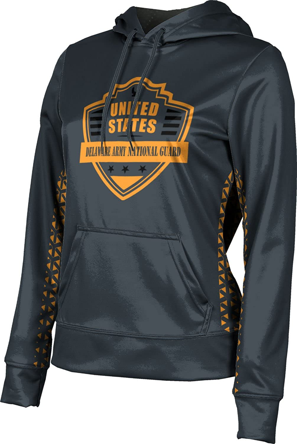 Women's Delaware Army National Guard Military Geometric Pullover Hoodie