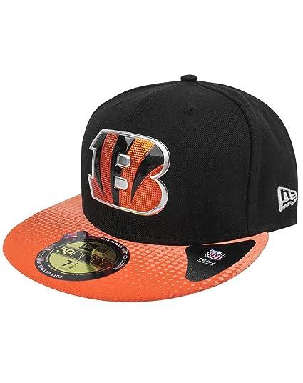 2b046861e New Era 59Fifty NFL Cincinnati Bengals Draft Cap (7 1 8)  Amazon.co ...