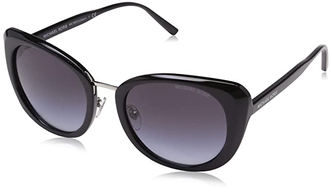 1f1feb3be4aec Michael Kors Womens Lisbon 0MK2062 52mm Black Grey Gradient One Size