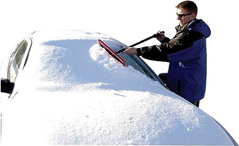 "Snow Broom 18841 Subzero 46/"" Heavy-Duty Arctic Plow Grip Hopkins Extend Sno Brum"